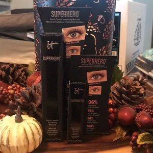 It Cosmetics Superhero Mascara Full & Sample size